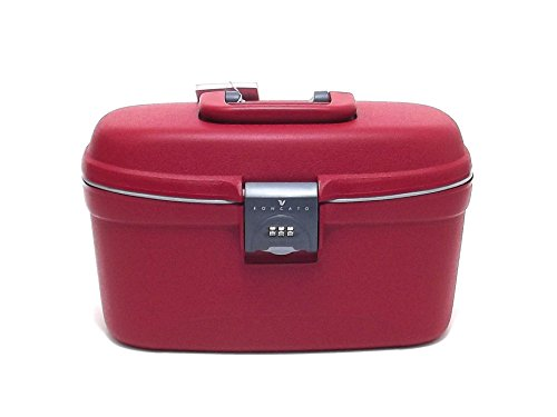 Roncato donna, 500268-09, beauty case in polipropilene, colore rosso