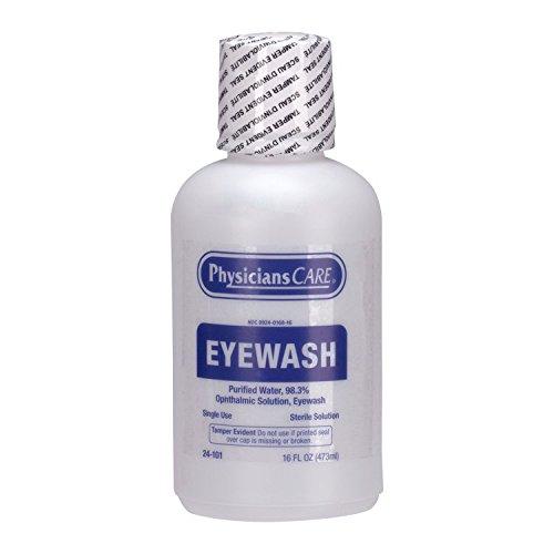 Pac-Kit 24-101 Eye Wash Solution, 16 oz Bottle