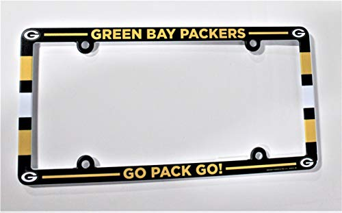 Green Bay Packers Full Color Lambeau Field License Plate Frame [Misc.]
