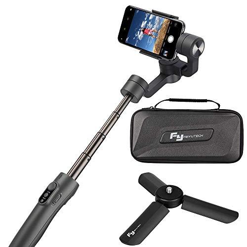 FeiyuTech - Stabilizzatore cardanico portatile Vimble 2-3-Axis allungabile per iPhone X/XS/ 8/7 Plus/6, smartphone, videocamere GoPro e Samsung Galaxy S9/S8
