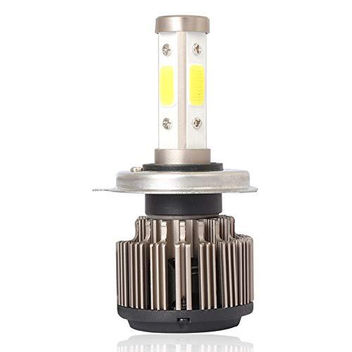 Ampoule De Phare De La Voiture Led De H4 / Hb2 / 9003, Série De Zzh X6 1Pc 50W 8000Lm 6500K Ce/Fcc / Rosh