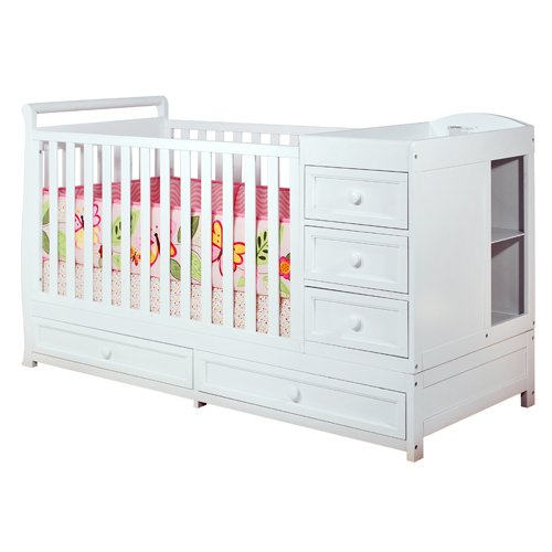 Athena Daphne Convertible Crib and Changer Product Image