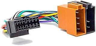 CARAV 15-109 ISO Autoradio Adapterkabel for Sony CD-; CDX-; MD-; MDX-; MEX-; WX-; XR-; XT-; XAV-series // JVC KD-; KS-; KW-series (select models) 16-pin(30x12mm) -> ISO(f)