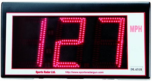 Save %23 Now! Sports Radar 3 Digit Red Led 4'' Display