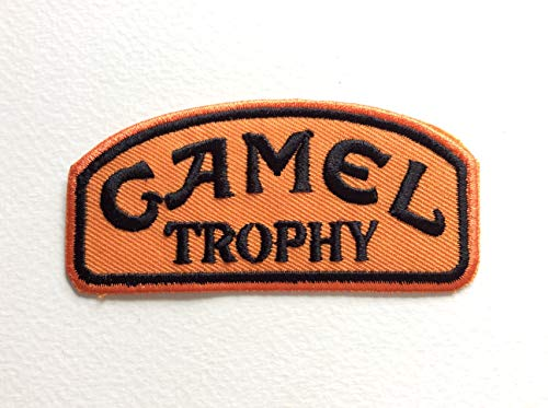 Blue Hawaii Patches Self-Sealing Toppa – Camel Trophy 8 x 4 cm