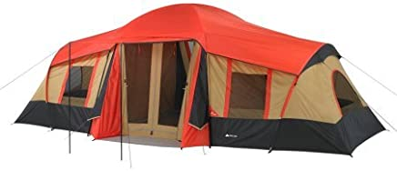 Ozark WMT922.2A Trail 10-Person 3-Room Vacation Tent Fits...