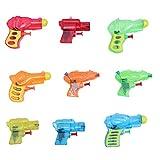 YeahiBaby 24pcs Pequeña Pistola de Agua de Presión Niños Playa Agua Juguetes Regalo Divertido del bebé