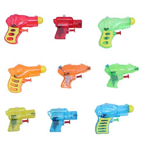 YeahiBaby Pistolets à Eau en Plastique,Piscine d'été Plage Jouet Water Squirt Jouets pour Enfants,24pcs(Couleur aléatoire)