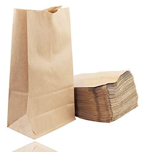 50x braune Beutel 265 x 170 mm Kraftpapiertüten Geschenktüten Kraftpapier als DIY Adventskalender - selber machen Tüten Beutel Weihnachten zum befüllen (50 x Tüten)