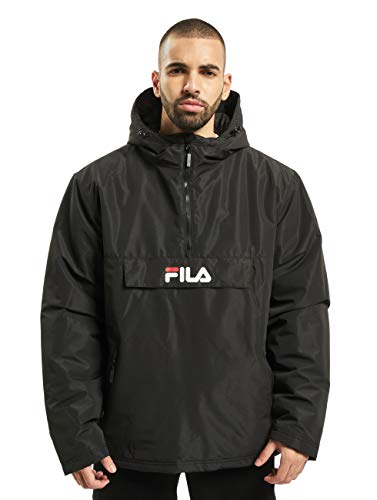 FILA Herren Men MICHIROU Anorak, Black, L