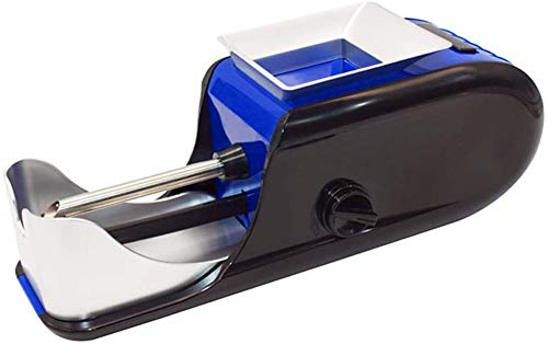 Máquina Para Liar Cigarrillos Eléctrico, Fabricante De Tabaco, Máquina De Liar Tabaco, Rodillo De Tabaco, Mini Dispositivo Automático De Liar Tabaco blue