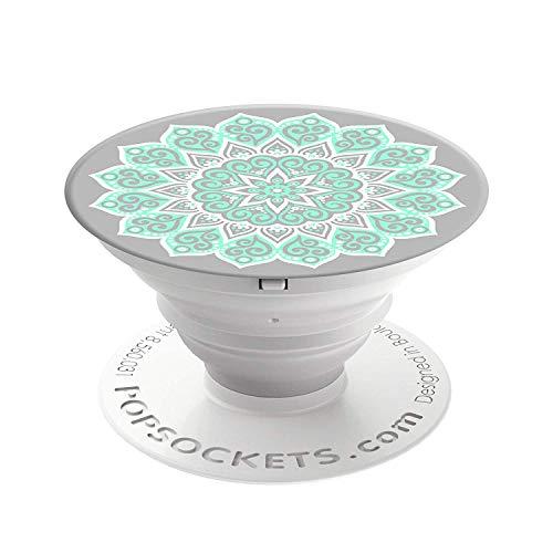 PopSockets PopGrip - [Nicht Austauschbarer] Ausziehbarer Sockel und Griff für Smartphones and Tablets - Peace Mandala Tiffany