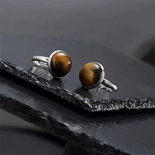 RFGHATG Open ring voor bruiloft, natuursteen met sieraden voor dames