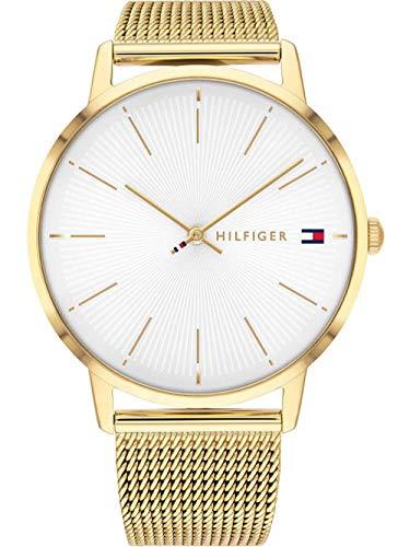Tommy Hilfiger Reloj Analógico para Mujer de Cuarzo con Correa en Acero Inoxidable 1782245