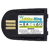 Akku-King Akku kompatibel mit Plantronics 84598-01 - Li-Polymer 140mAh - für Savi 440, 740, W440, W440-M, W740, W740-M, W745, WH500