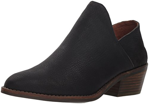 Lucky Brand womens Fausst Ankle Boot, Black, 5.5 US