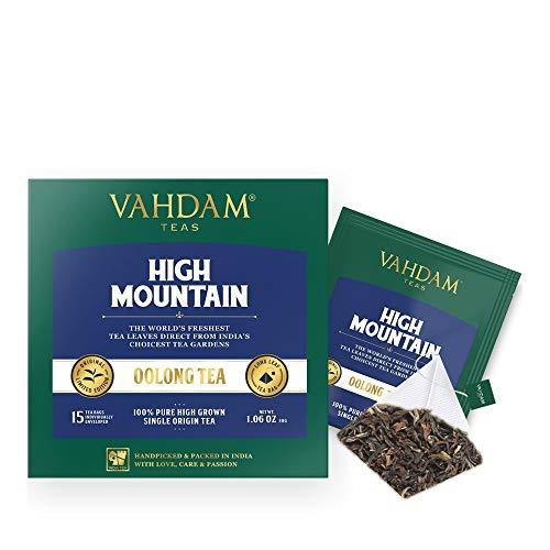 Himalaya-Oolong-Tee (30 Tea Bags) - Oolong-Tee zur Gewichtsreduktion , Schlankheits-Tee, Oolong-Tee Loose Leaf, Detox-Tee und Schlankheitstee, Brew Hot, Iced oder Kombucha Tee