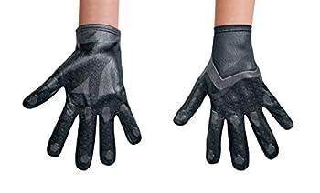Disguise Black Power Ranger Movie Child Gloves One Size