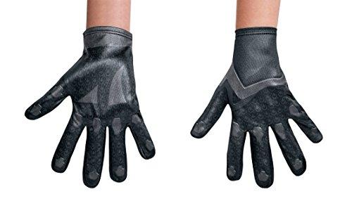 Disguise Black Power Ranger Movie Child Gloves, One Size