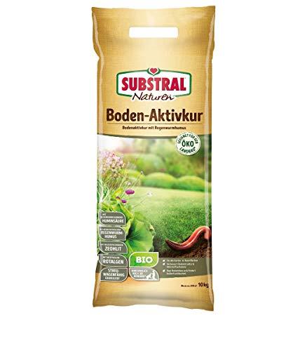 Naturlig biologisk golvaktiv kur naturlig markaktivator för att förbättra golvbärbarheten med näringsämnesfri regnhumus, upp till 200 m², 10 kg