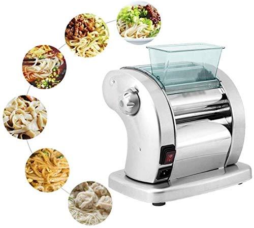 Macchina di famiglia Noodle Press multifunzionale Spaghetti caffè in acciaio inox Macchina for la pasta Convenienza (Colore: Argento, Formato: Largamente tipo tagliatella), Formato: Largamente tipo di