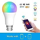 Intelligente Glühbirne, Vobot 7 Watt B22 Smart LED Birne Kompatibel mit Alexa und Google Home, Mit...
