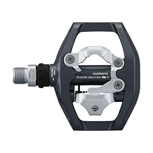 Shimano Unisex– Erwachsene Fahrradpedale-2091881300 Fahrradpedale, schwarz, One Size - 3