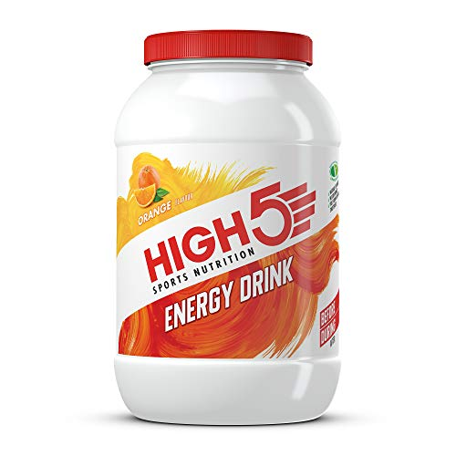 HIGH5 Energy Hydration Drink Refreshing Mix of Carbohydrates and Electrolytes Vegan Friendly (Orange, 2.2kg)