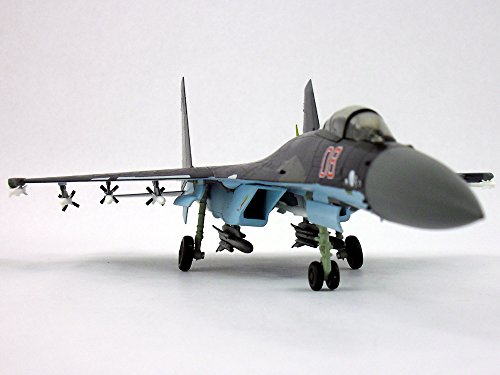 Sukhoi Su-35 (Su-27) Super Flanker 1/72 Scale Diecast Metal Model Airplane by Air Force