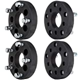 ECCPP 4x 5 lug 1.25' 5x4.5 to 5x5.5 Wheel Spacers Adapters 73mm with 1/2' Studs