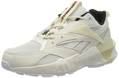 Reebok Damen Aztrek Double Mix Gymnastikschuhe, Beige (Chalk/Classic White/Black), 38.5 EU