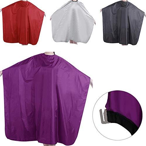 Lorororory Kapmantel, voor volwassenen, 1 stuks, waterdicht, salon, tondeuse, kapsalon, barbeer, jurk, doek