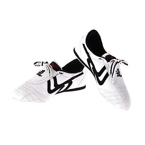VGEBY1 6 Sizes Taekwondo Lightweight Shoes Boxing Kung fu Taichi Sports for Adults(41)