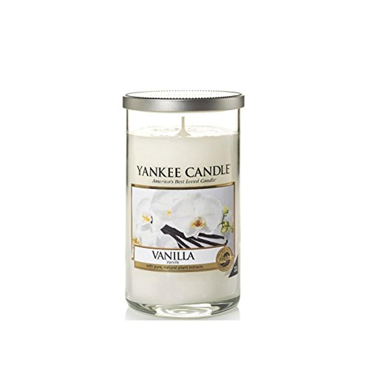 残忍な干し草道に迷いましたYankee Candles Medium Pillar Candle - Vanilla (Pack of 6) - ヤンキーキャンドルメディアピラーキャンドル - バニラ (x6) [並行輸入品]