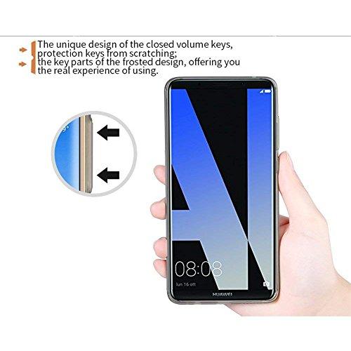 TopACE Hülle für Huawei Mate 10 Pro, TPU Hülle Schutzhülle Crystal Case Durchsichtig Klar Silikon transparent für Huawei Mate 10 Pro (Transparent) - 5