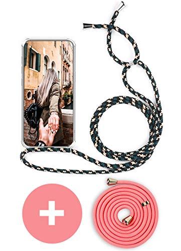 Handykette Handyhülle mit Band für Huawei Mate 10 Lite Cover - Handy-Kette Handy Hülle mit Kordel Umhängen -Handy Halsband Lanyard Hülle/Handy Band Halsband Necklace