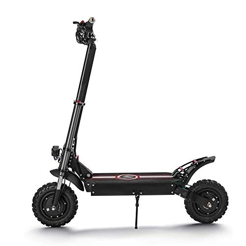 FQCD 2400w elektrischer Roller, 11-Zoll-Aluminium-Legierung Dual-Drive-Off-Road Elektro-Scooter LOLDF1Lightweight und faltbar '24lb ist leicht und kann zu 265Lb Laden
