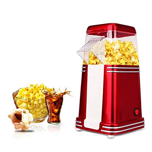 Buy Xndz Hot Air Popcorn 1100W Fast Popcorn Maker Removable Lid No Oil Needed Red 163011cm