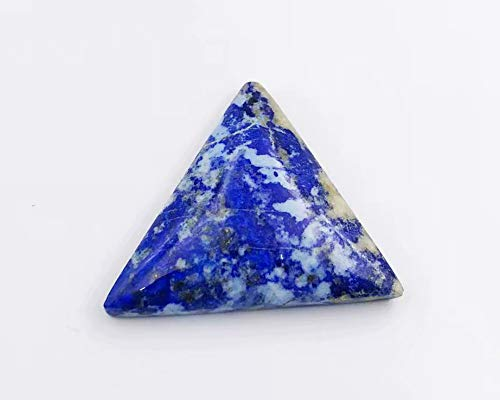 ラピスラズリ ペンダント トライアングル 瑠璃 三角形 天然石ペンダント ピラミッド 青金石 パワーストーン 誕生石 最強の守護石
