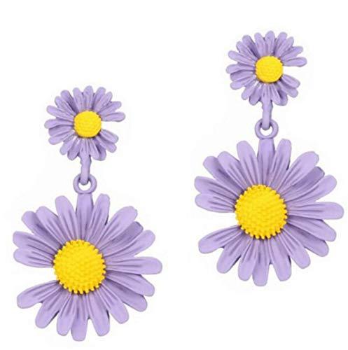 Pendientes De Gota De Flores Bonitos De Estilo Coreano para Mujer, Nuevos Pendientes Dulces De Moda, Joyería 63473