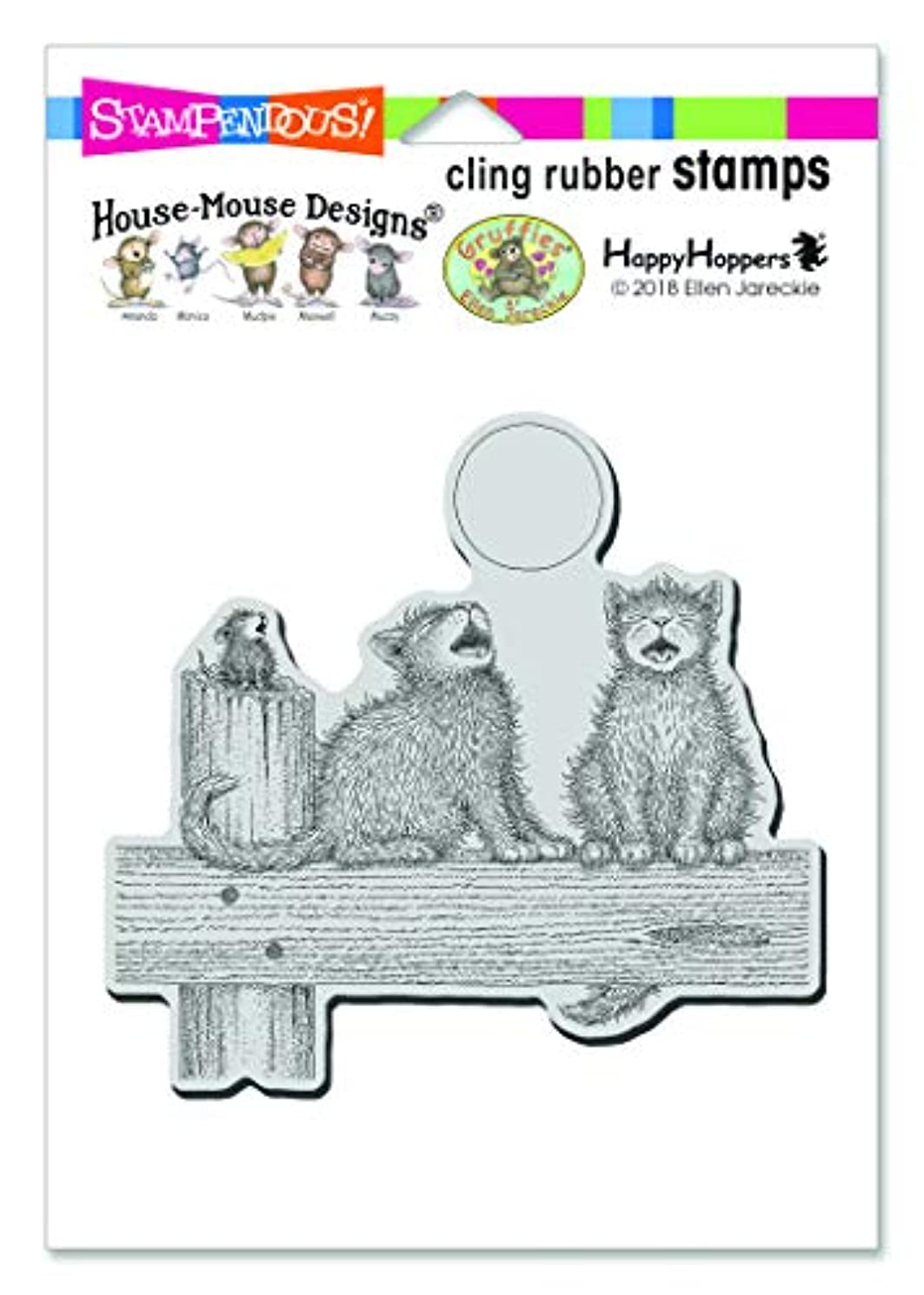 Stampendous HMCW09 Rubber Stamp