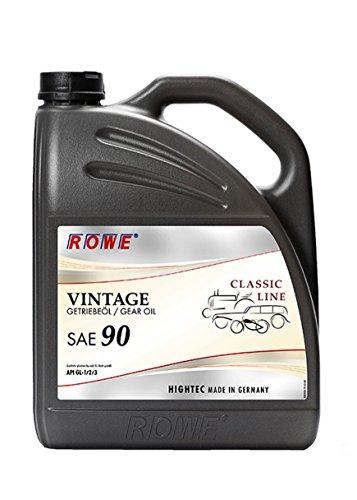 ROWE Hightec Vintage SAE 90-5 Liter Oldtimer, Youngtimer Getriebeöl | Made in Germany
