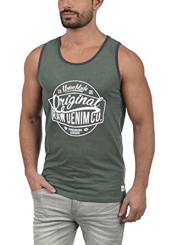 BLEND Walex Camiseta Básica De Tirantes Tanque Tank Top con Estampado con Cuello Redondo con Gráfico De 100% algodón