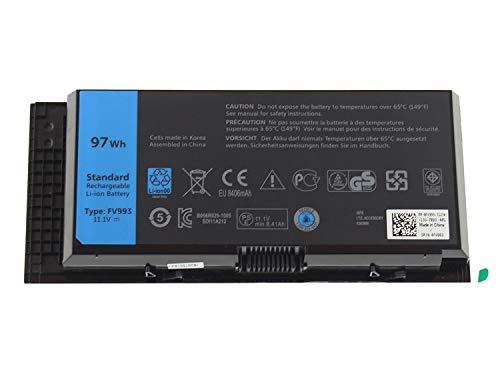 7XINbox FV993 FJJ4W 11.1V 97WH 9Cell Laptop Akku für Dell Precision M4600 M4700 M4800 M6600 M6700 M6800 R7PND X57F1 PG6RC V7M28 KJ321 WD6D1 4HJXX T4DTX 33F0D Ersatz Batterie