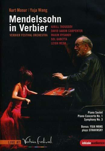 Mendelssohn in Verbier - Piano Sextet / Piano Cto [DVD]