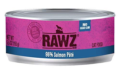 RAWZ Salmon Pate Wet Cat Food