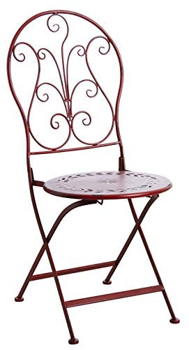 AUBRY GASPARD Chaise de terrasse Pliante en métal