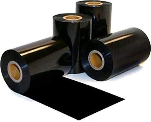 DIMATICA Ribbon 110x300 Ink out - Nastro carbongrafico a Base Cera per Stampa a trasferimento Termico Foil