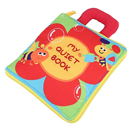 Cloth Book, Cloth Book Kids Gift, Kids Early Learning Book, Toddler Kids Intelligence Development Learning & Education Toy