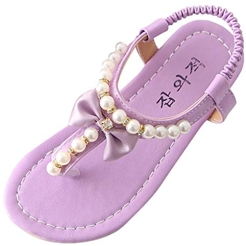 Baby Mädchen dorical baby schuhe ' fashion sandals lila 8 uk child